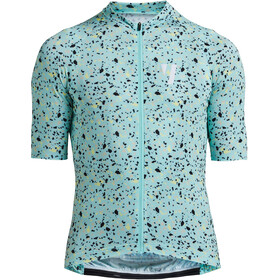 VOID Print 2.0 Maillot Manches courtes Homme, mint mosaic